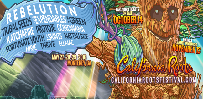 Artist Announcements for 7th Annual California Roots Music & Arts Festival