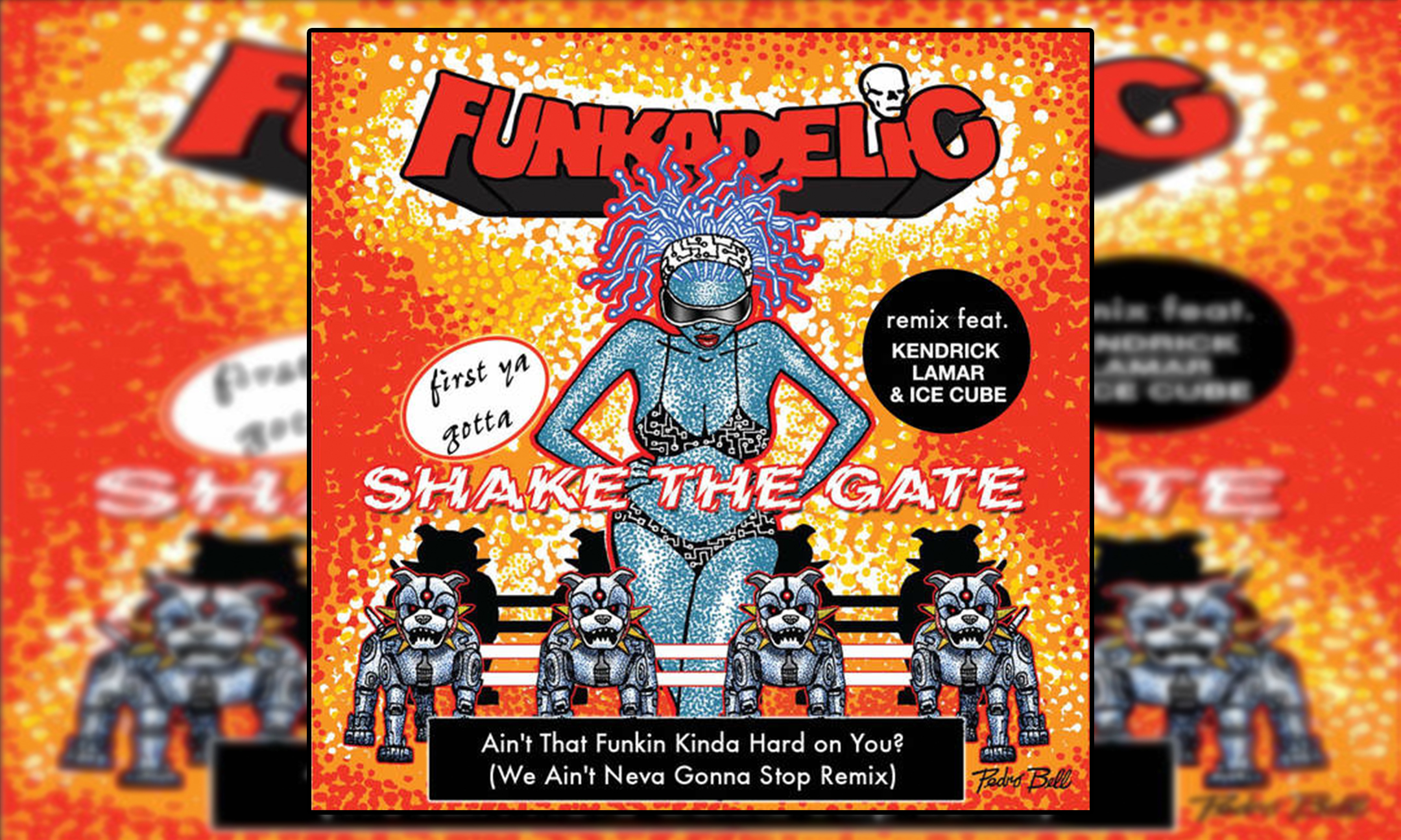 George Clinton and Parliament Funkadelic – Ain't That Funkin' Kinda Hard On You? REMIX (feat. Kendrick Lamar & Ice Cube) #MusicVideo