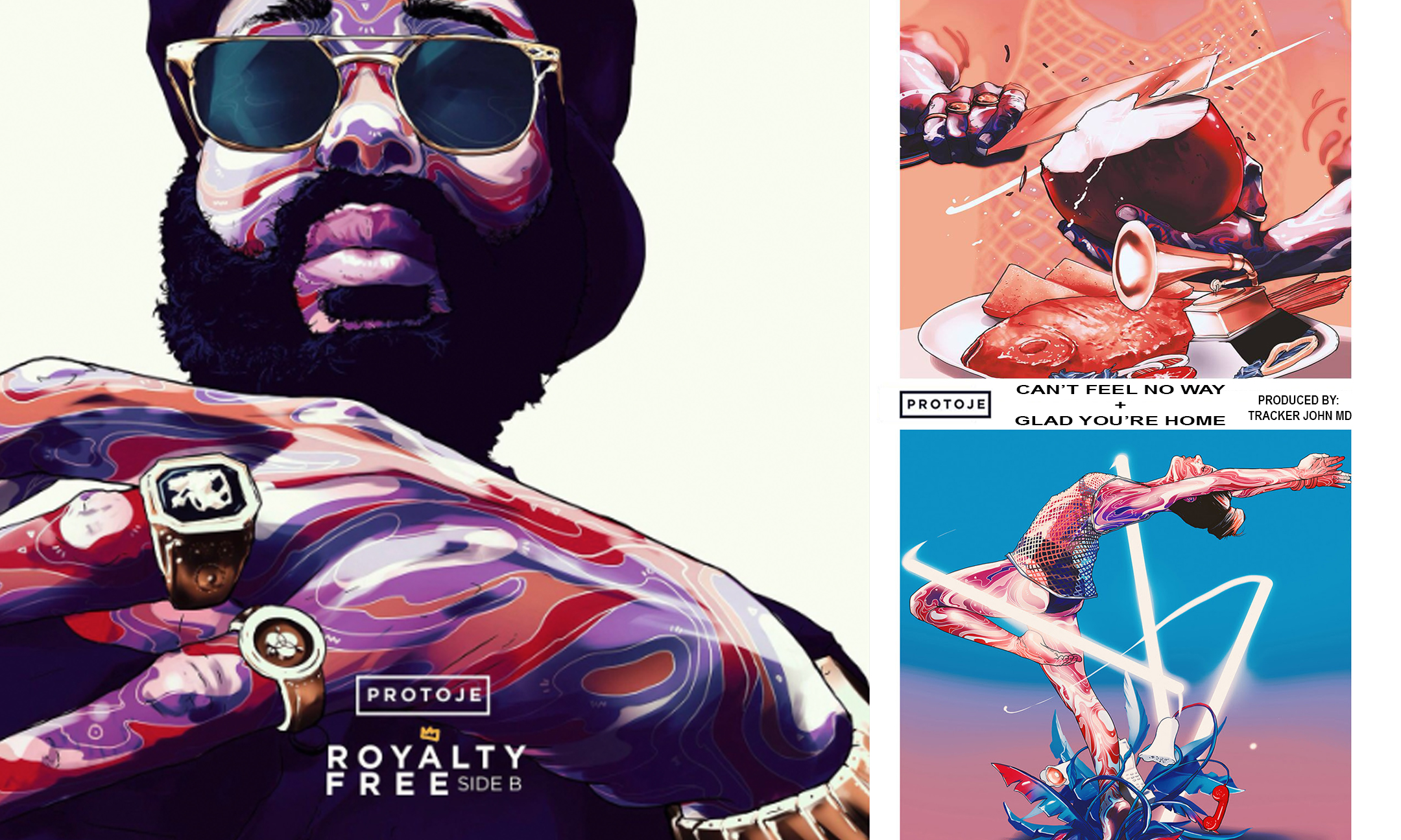 Protoje – Can't Feel No Way + Glad You're Home  #NewMusic
