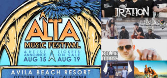 Alta Music Festival (Iration, Nahko & Medicine For The People, Collie Buddz & More)