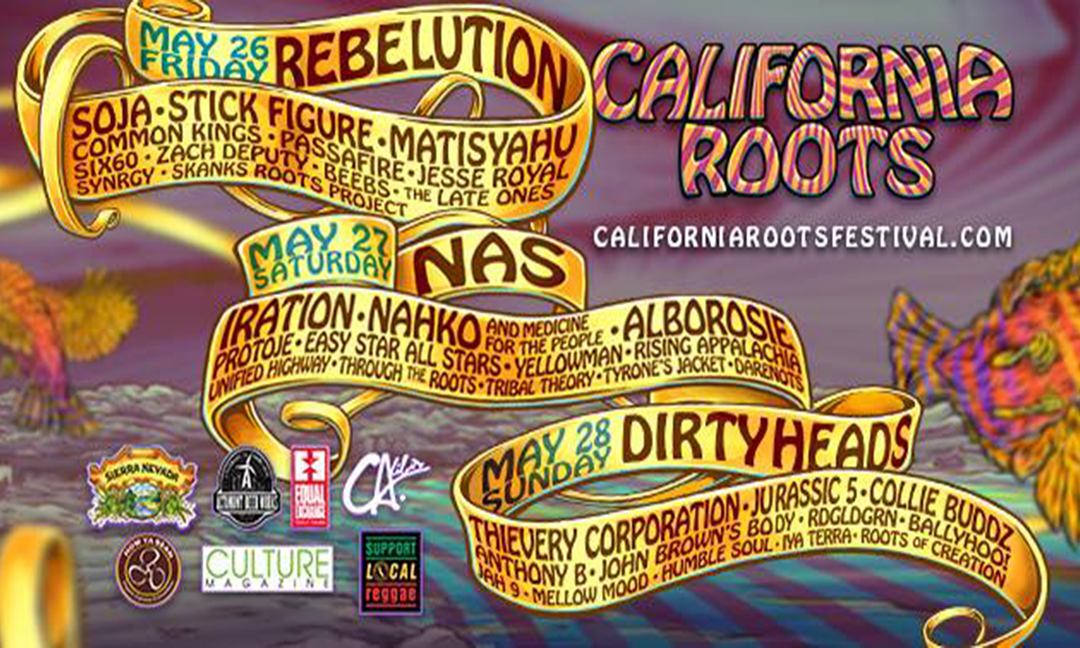 California Roots Announces Their Day-By-Day Lineup