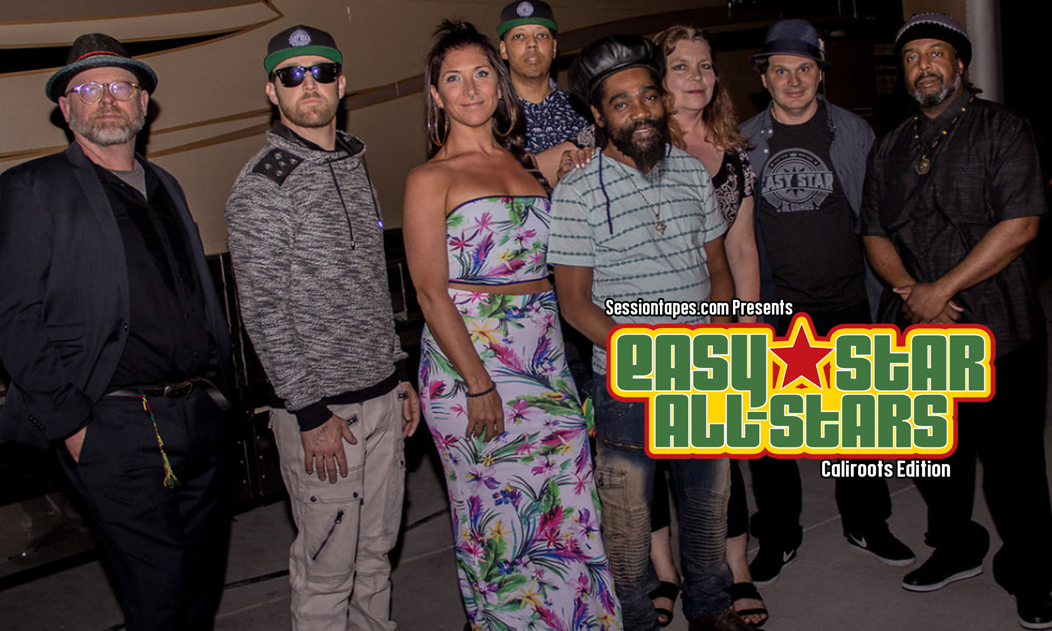 Sessiontapes.com Presents Easy Star All-Stars #Caliroots Edition