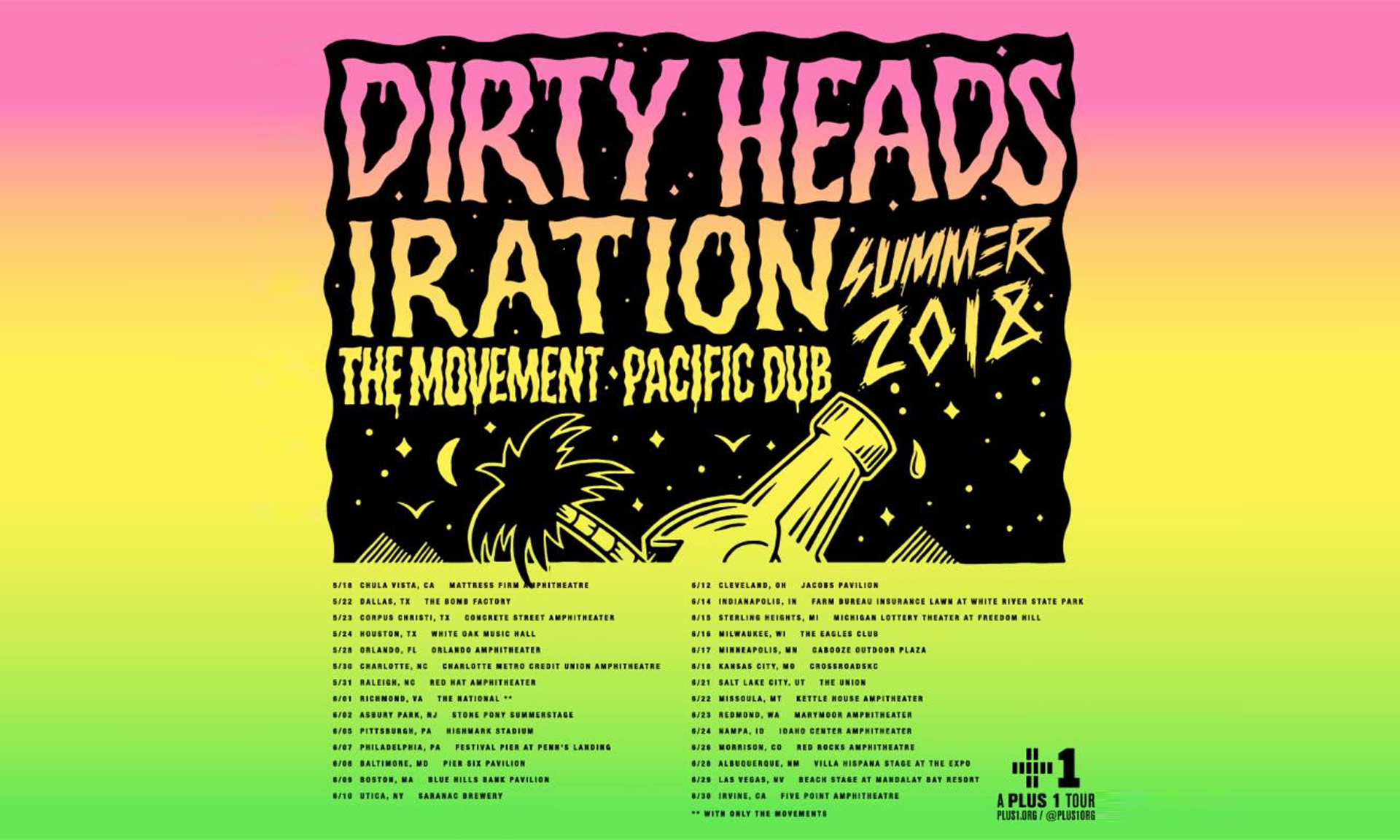 Dirty Heads Announce National Summer Tour