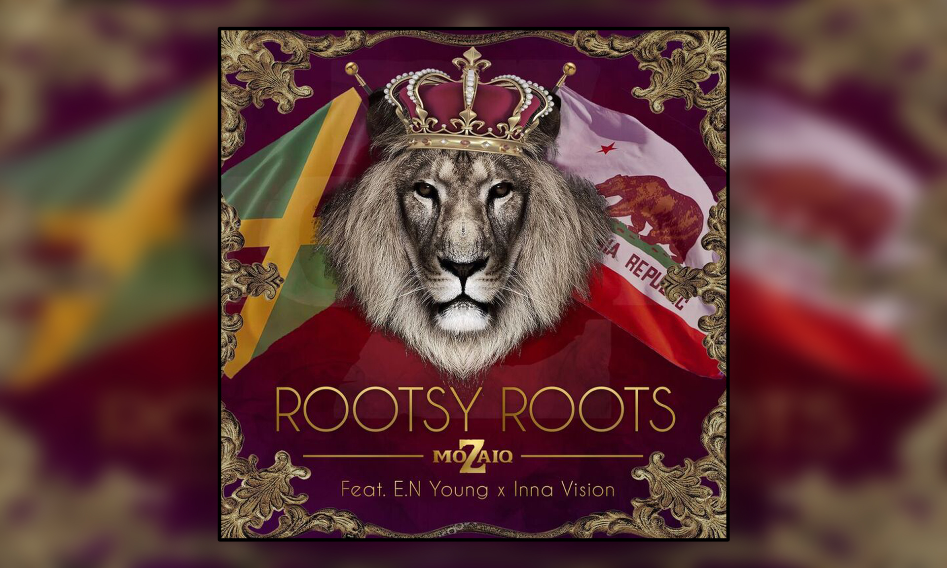 "Mozaiq Releases ""Rootsy Roots Featuring E.N Young and Inna Vision"