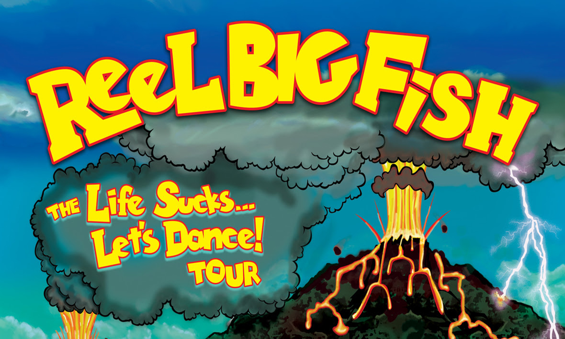 Reel Big Fish Announce Winter 2019 'Life Sucks, Let's Dance!'
