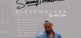 Sammy Johnson Winter 2018 'Sleepwalker' Tour!