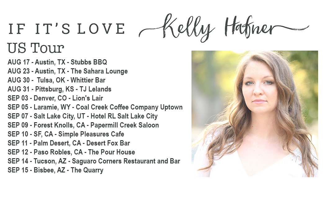 Soul Singer Kelly Hafner Embarks on US Tour!